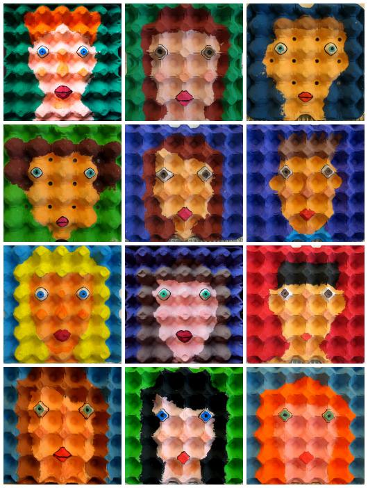 Enno de Kron collage